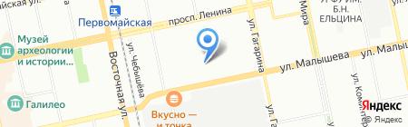 Детский сад №99 на карте Екатеринбурга