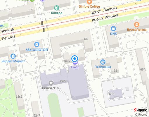 Товарищество собственников жилья «Каравелла» на карте Екатеринбурга
