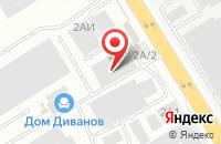 Схема проезда до компании Ирис в Екатеринбурге