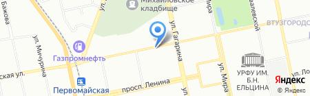 Соломон на карте Екатеринбурга