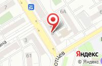 Схема проезда до компании Веас в Екатеринбурге