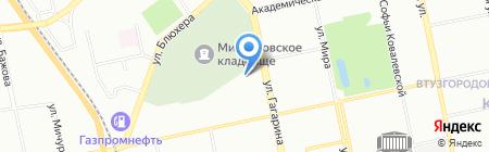 Приоритет на карте Екатеринбурга