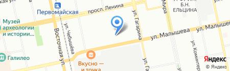 Женская консультация на карте Екатеринбурга