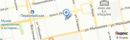 Экотехника на карте Екатеринбурга