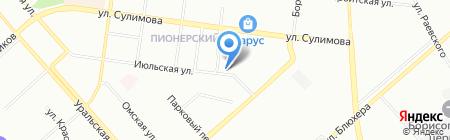 ICE на карте Екатеринбурга