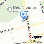Защита на карте Екатеринбурга