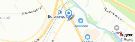 Ювелирные линии на карте Екатеринбурга