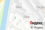 Схема проезда до компании Юником в Екатеринбурге
