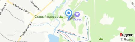 УКТУС на карте Екатеринбурга