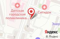 Схема проезда до компании Техномол-Урал в Екатеринбурге