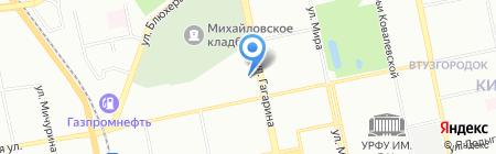 Альфа Сервис на карте Екатеринбурга