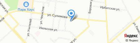 Домашняя мечта на карте Екатеринбурга