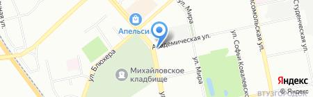 Emex на карте Екатеринбурга