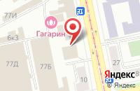 Схема проезда до компании Турпрофи-Регион в Екатеринбурге