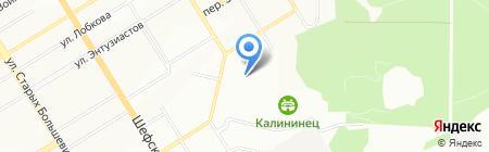 МАКСТЕННИС на карте Екатеринбурга
