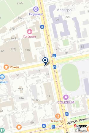 БагановаА.А. на карте Екатеринбурга