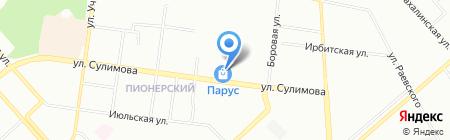 Восторг на карте Екатеринбурга