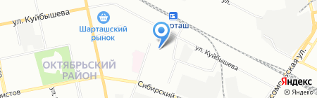 Детский сад №479 на карте Екатеринбурга