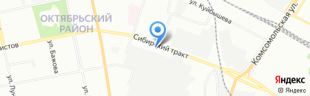 Smartbel на карте Екатеринбурга
