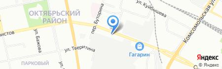 УРАО на карте Екатеринбурга