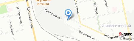 Рейлэйдж Стрим Компани на карте Екатеринбурга