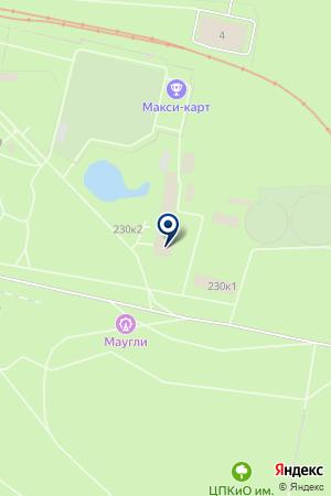 Парк культуры иотдыха имениВ.В. Маяковского на карте Екатеринбурга