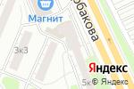 Схема проезда до компании МИКС в Екатеринбурге