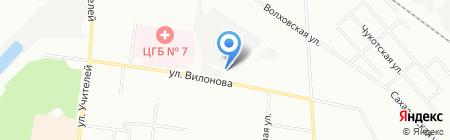 Альфа-Холод на карте Екатеринбурга