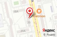 Схема проезда до компании Урало-Сибирский Центр Экономического Сотрудничества в Екатеринбурге