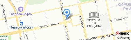 Роспечать на карте Екатеринбурга