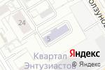 Схема проезда до компании Детский сад №554 комбинированного вида в Екатеринбурге