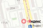 Схема проезда до компании Beauty REFORM в Екатеринбурге