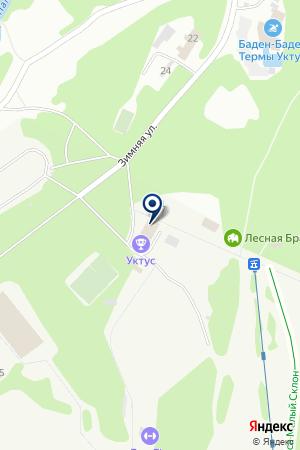 Crazy Vikings на карте Екатеринбурга