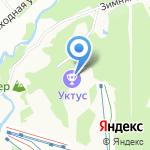 Уктусские бани на карте Екатеринбурга