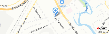 Уралстанкоцентр на карте Екатеринбурга