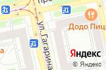 Схема проезда до компании Санетта в Екатеринбурге