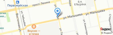 Здоровье на карте Екатеринбурга