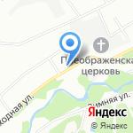 Ивановские бани на карте Екатеринбурга