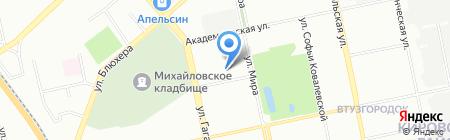 ЭЛТИ-КУДИЦ-Урал на карте Екатеринбурга