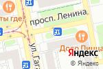 Схема проезда до компании Лаванда в Екатеринбурге