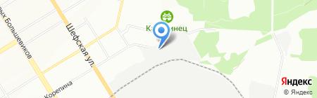 Региональный Центр Металлопроката на карте Екатеринбурга