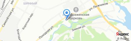 Вишневая горка на карте Екатеринбурга