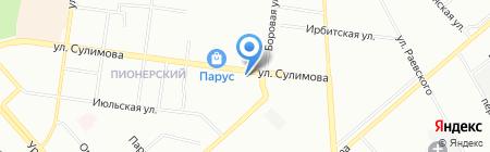 Адвокатский кабинет Кощеева А.И. на карте Екатеринбурга