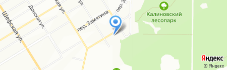 Родник на карте Екатеринбурга