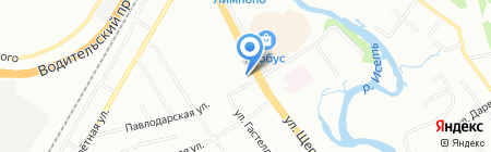 Элит на карте Екатеринбурга