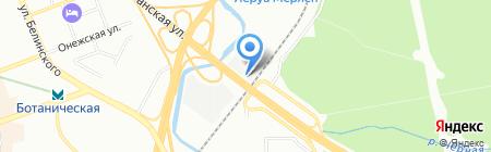 Техно-Про на карте Екатеринбурга