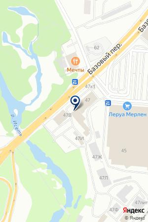 Резидент на карте Екатеринбурга