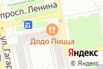 Схема проезда до компании SUN FIRE TOUR в Екатеринбурге
