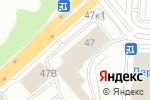 Схема проезда до компании Владимирская Фабрика Дверей в Екатеринбурге