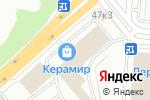 Схема проезда до компании Мистер электрик в Екатеринбурге